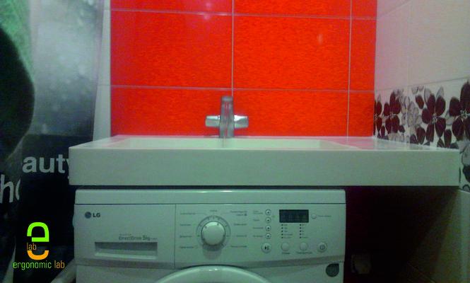 Раковины над стиральной машиной 60х50